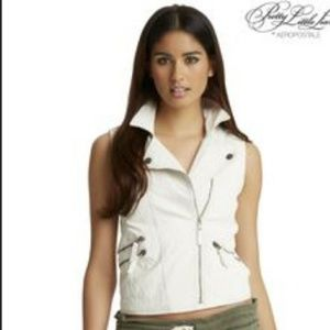 Pretty Little Liars White Vest by Aeropostale
